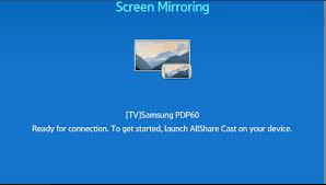 screen mirroring on samsung