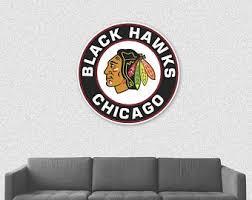 Blackhawks Decal Etsy