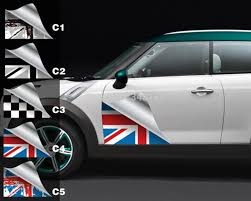 Aliauto Car Styling Side Door Sticker And Decals Accessories For Mini Cooper Countryman R50 R52 R53 R58 R56 Stickers And Decals Stickers Stickersmini Accessories Aliexpress