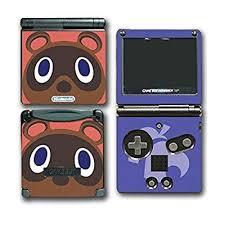 Animal Crossing Tom Nook Video Game Vinyl Decal Skin Sticker Cover For Nintendo Gba Sp Gameboy Advance System Walmart Com Walmart Com