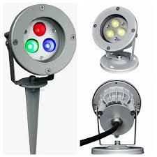 multicolor led garden lamp dc24v