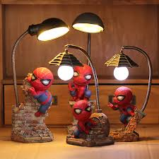 Cute Cartoon Night Lamp Resin Children S Lamp Bedroom Nightlight Child Led Night Light For Boy Kids Xmas Creative Gift Aliexpress
