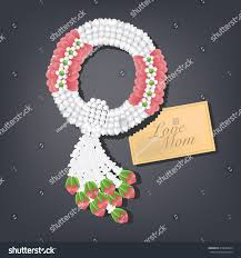 Thai Flower Garland Thailand Mothers Day Stock Vector (Royalty Free)  418844023