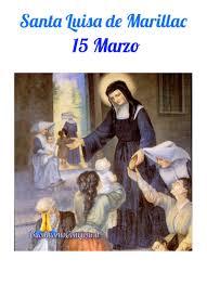 Santa Luisa de Marillac 15 Marzo - BuongiornoConGesu.it