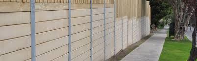 Steel Metal Retaining Walls Melbourne Sleeper Retaining Steel Wall Posts