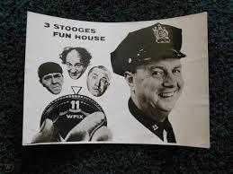 3 Stooges' Officer Joe Bolton Autograph & Sandy Becker Autograph |  #1748349124
