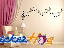 Musical Note Vinyl Wall Decals Music Graphics Bedroom Home Studio Decor