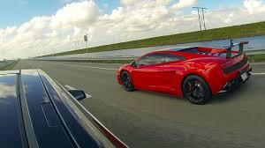 Tesla Model S P85D vs Lamborghini LP570 ...