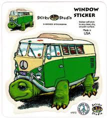 Vt572 Turtle Bus Sticker Stickerbiz Com