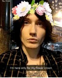 best flower crown memes icing memes purple flower memes