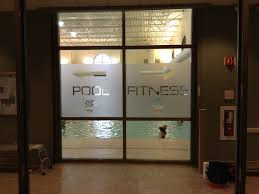 Steel Fitness Pool Frosted Etched Glass Decal Sticker Graphic Pa 3m Id Wraps Blog