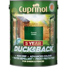 Cuprinol Ducksback Shed Fence Treatment 5l Forest Green