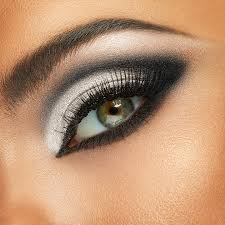 black and white makeup when opposites
