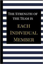 com the strength of the team is each individual a best