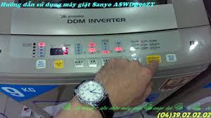 Hướng dẫn sử dụng máy giặt Sanyo ASWDQ90ZT ...