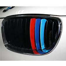 M Sports Stickers Car Front Grill Stripes Decals For Bmw M3 M5 M6 E46 E39 E60 E90 Car Styling Wall Decal Design Wall Decal Designs From Tanguimei1 4 Dhgate Com