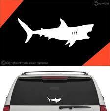 Shark Decal Car Sticker A1 Topchoicedecals