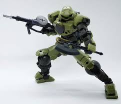 Gunplanerd: [Kit Insight] Bandai 30MM 1/144 bEXM-15 Portanova (Green) -  Straight Build