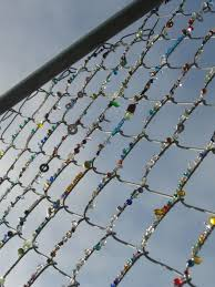 Yarnbombing And Beaded Fences Streetcolor