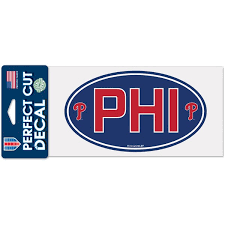 Philadelphia Phillies Car Decals Phillies Bumper Stickers Decals Fanatics