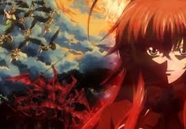 rias gremory other anime background