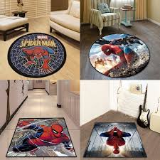 Cartoon Marvel The Spider Man The Avengers Door Mat Rug Carpet Floor Bedroom Doormat Non Slip Mat Cartoon Gift In 2020 Rugs On Carpet Carpet Flooring Mat Rugs