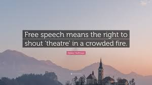 "Abbie Hoffman Quote: ""Free speech means ..."