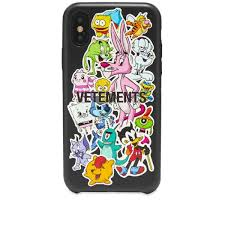 Vetements Monster Sticker Iphone Xs Case Multi End
