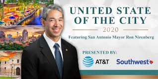 Chamber and partners host unprecedented virtual United State of the City  with Mayor Ron Nirenberg | San Antonio Chamber