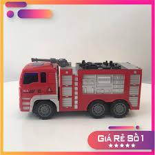 ? FREESHIP TOÀN QUỐC ? Bộ 4 xe cứu hỏa đồ chơi ? Bộ 4 ô tô đồ chơi cho  bé trai từ 2 đến 6 tuổi