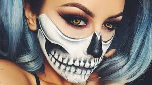 diy skeleton makeup the terrifyingly