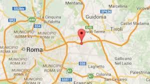 Terremoto Oggi Roma: magnitudo 2.4 a Lunghezza - Monti Cornicolani ...