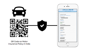 car insurance qr code india all indian