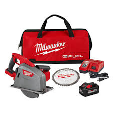 Milwaukee Tool M18 Fuel 18v 8 Inch Li Ion Brushless Metal Cutting Circular Saw Kit With 8 The Home Depot Canada