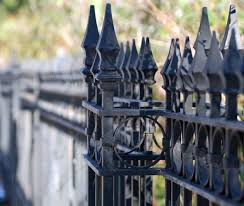 Airmet Metalworks Fabrication Of Exquisite Decorative Wrought Iron Fence Custom Gates Balconies And Fireplaces Wrought Iron Gates Wrought Iron Fences Custom Metal Works For New Jersey New York And Connecticut