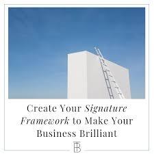 create your signature framework to make
