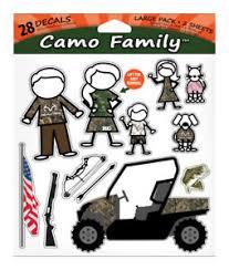 Realtree Camo Family Peel And Stick Wall Decal 876268005688 Ebay
