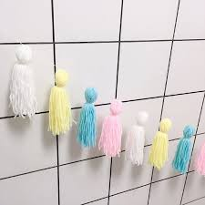 2020 2m Baby Room Decoration Diy Macaron Color Tassel Decor Banner Decoration Bedding Bumpers Party Flags Kids Room Decor From Qiananshopping 15 83 Dhgate Com