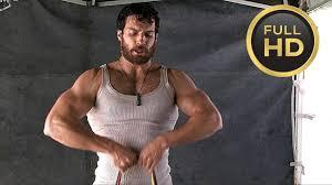 henry cavill workout man of steel