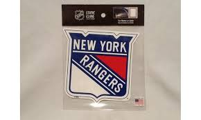 New York Rangers Die Cut Static Cling Decal Sticker 5 X 5 New Car Window Nhl Groupon