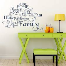 In Our Home You Ll Find Family Wall Decal A Great Impression
