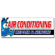 12 Ac Repair Service Decal Sticker Hvac Air Conditioning Estimates Finance Walmart Com Walmart Com