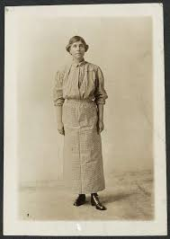 Abby Scott Baker in prison dress, 1917 - PICRYL Public Domain Image