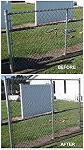 Amazon Com Extend A Post Extensions For Chain Link Fence Set Of 9 1 3 8 Garden Outdoor