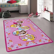 Allstar Pink Rug Kids Baby Room Area Rug Princess Bright Colorful Vibrant Pink Colors 3 3 X 4 10 Walmart Com Walmart Com