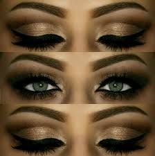 dramatic arabian inspired eyes how