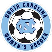 6 Unc Women S Soccer Ball Vinyl Decal Wesellspirit Com