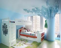 Romantic Kids Room Design Trees For Decorating Empty Walls