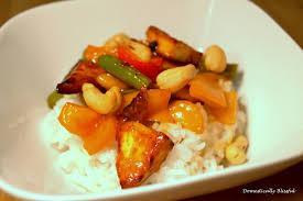 sweet sour tofu