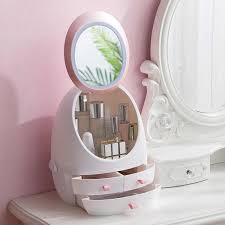 led light hd mirror cosmetic case